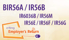e-filing of Employer's Return