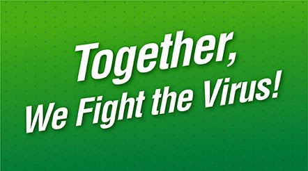 Together, We Fight the Virus!
