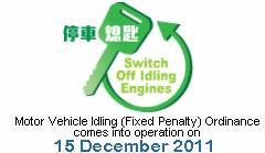 Switch off Idling Engines