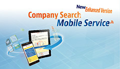 Launch of Full Scale Company Search Mobile Service